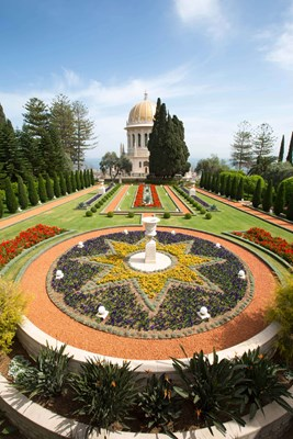 Picture by Itamar Grinberg - the Bahai Gardens and temple in Haifa